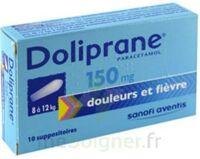DOLIPRANE 150 mg Suppositoires 2Plq/5 (10) à LA SEYNE SUR MER