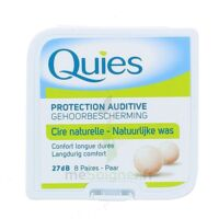 QUIES PROTECTION AUDITIVE CIRE NATURELLE 8 PAIRES à LA SEYNE SUR MER