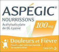 ASPEGIC NOURRISSONS 100 mg, poudre pour solution buvable en sachet-dose à LA SEYNE SUR MER