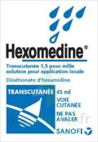 HEXOMEDINE TRANSCUTANEE 1,5 POUR MILLE, solution pour application locale à LA SEYNE SUR MER