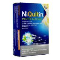NIQUITIN 4 mg Gom à mâcher médic menthe glaciale sans sucre Plq PVC/PVDC/Alu/30 à LA SEYNE SUR MER