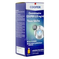 OXOMEMAZINE H3 SANTE 0,33 mg/ml SANS SUCRE, solution buvable édulcorée à l'acésulfame potassique à LA SEYNE SUR MER