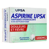ASPIRINE UPSA TAMPONNEE EFFERVESCENTE 1000 mg, comprimé effervescent à LA SEYNE SUR MER