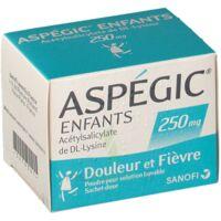 ASPEGIC ENFANTS 250, poudre pour solution buvable en sachet-dose à LA SEYNE SUR MER