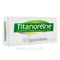 TITANOREINE Suppositoires B/12 à LA SEYNE SUR MER