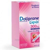 Dolipraneliquiz 300 mg Suspension buvable en sachet sans sucre édulcorée au maltitol liquide et au sorbitol B/12 à LA SEYNE SUR MER