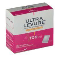 ULTRA-LEVURE 100 mg Poudre pour suspension buvable en sachet B/20 à LA SEYNE SUR MER
