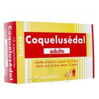 COQUELUSEDAL ADULTES, suppositoire à LA SEYNE SUR MER