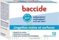 Baccide Lingette désinfectante mains & surface 12 Pochettes à LA SEYNE SUR MER