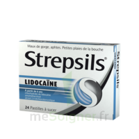 Strepsils lidocaïne Pastilles Plq/24 à LA SEYNE SUR MER