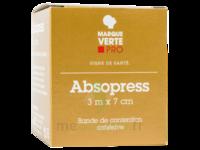 ABSOPRESS Bande contention cohésive 3m x 7cm – blanc à LA SEYNE SUR MER