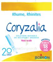 Boiron Coryzalia Solution buvable unidose B/20 à LA SEYNE SUR MER